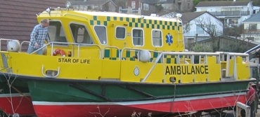 ambulance boat