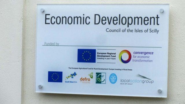 economic development eco dev sign