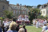 Sun Shines For Mayday Ceremony