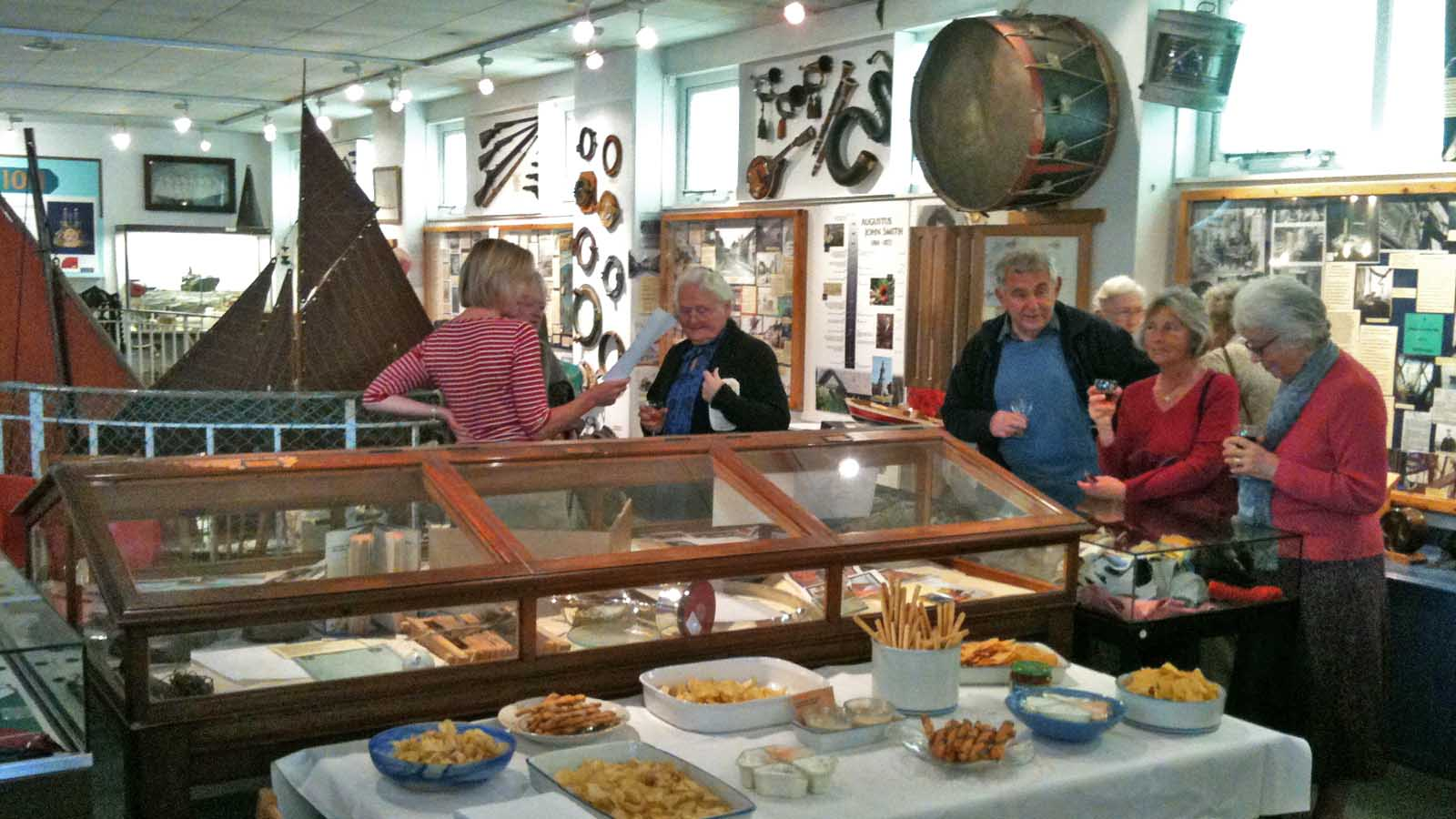 museum reception