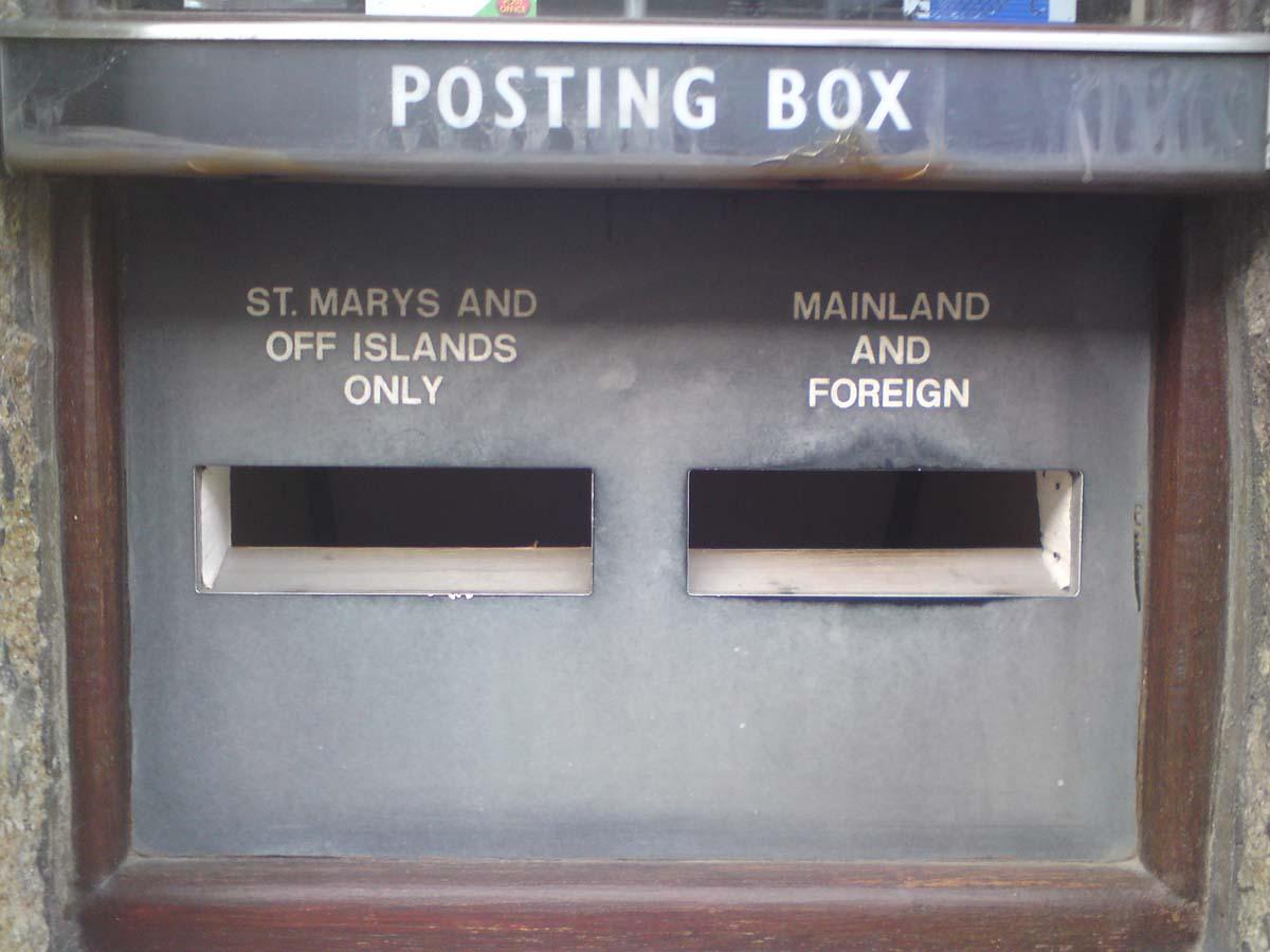 post box post office