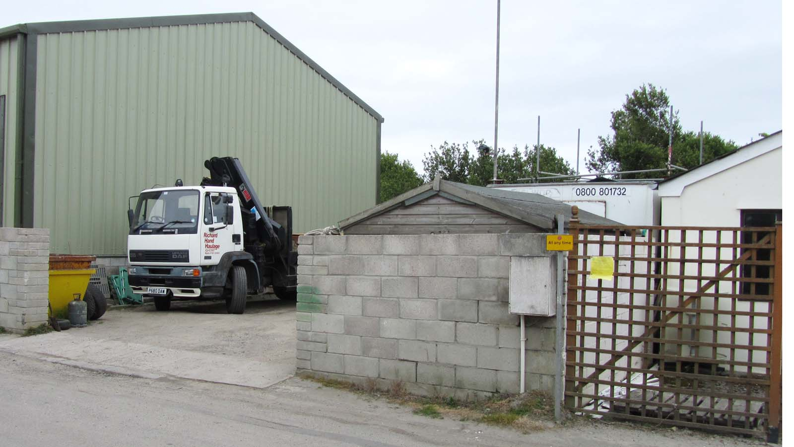 Haulage Business To Expand Premises