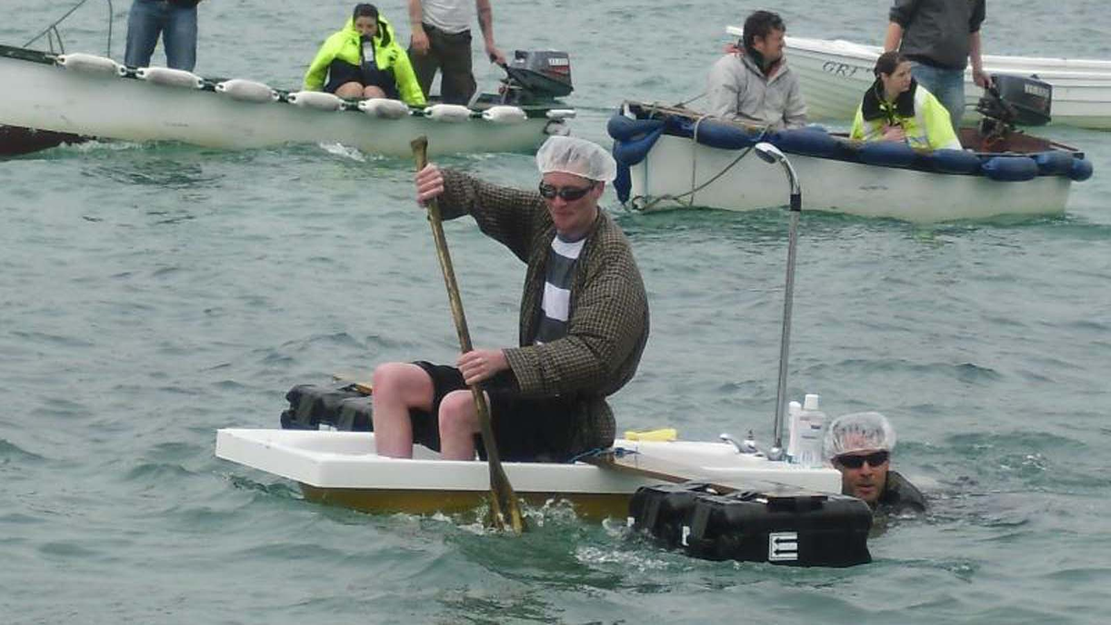 James Druce On This Year's Tresco Raft Race