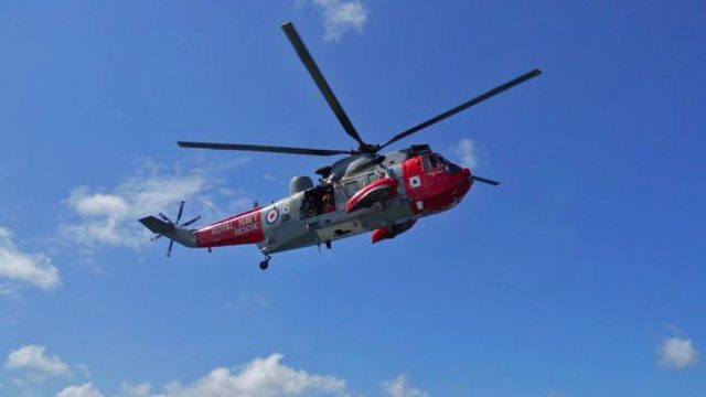 helicopter rescue culdrose
