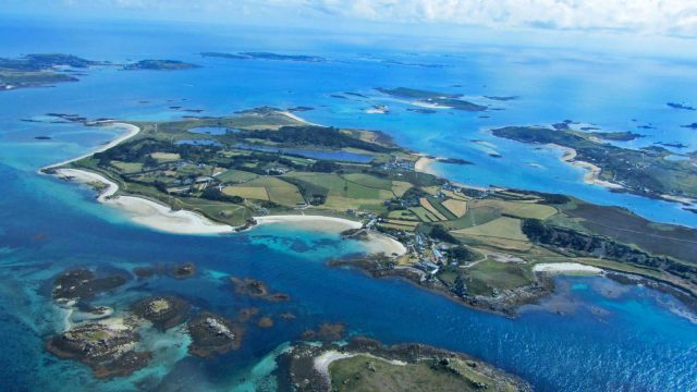 tresco from above