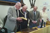 Council Presented With King James Bible To Mark 400th Anniversary