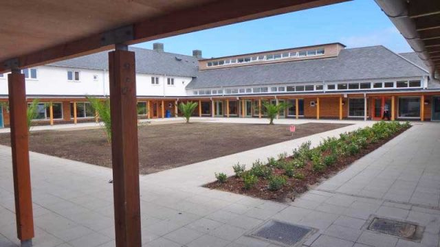 school cloister