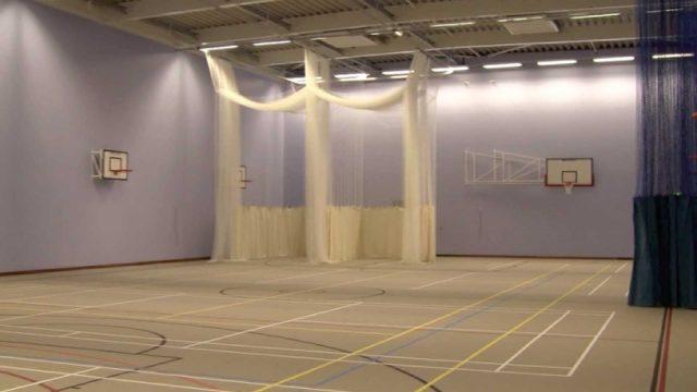 sports hall_interior