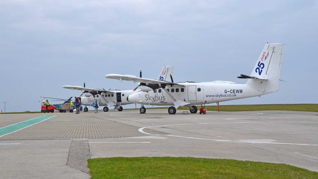 skybus twin otters