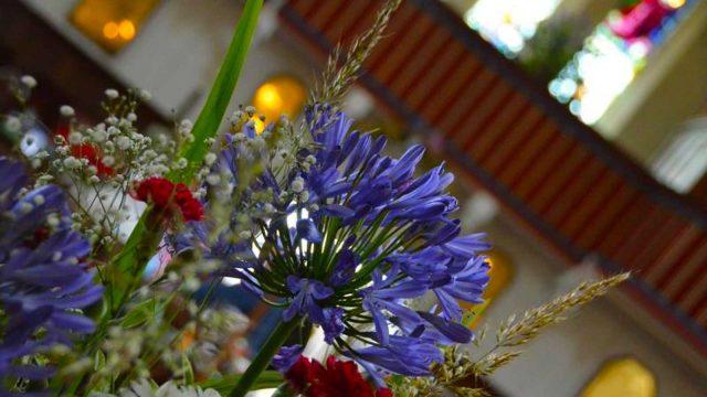 church flower festival 2012