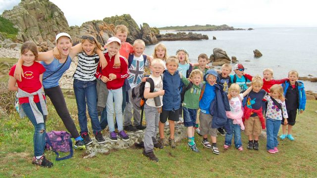 tresco school walk 2012