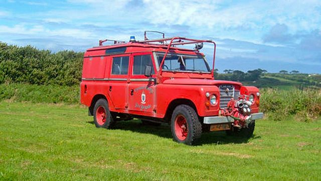 fire service land rover