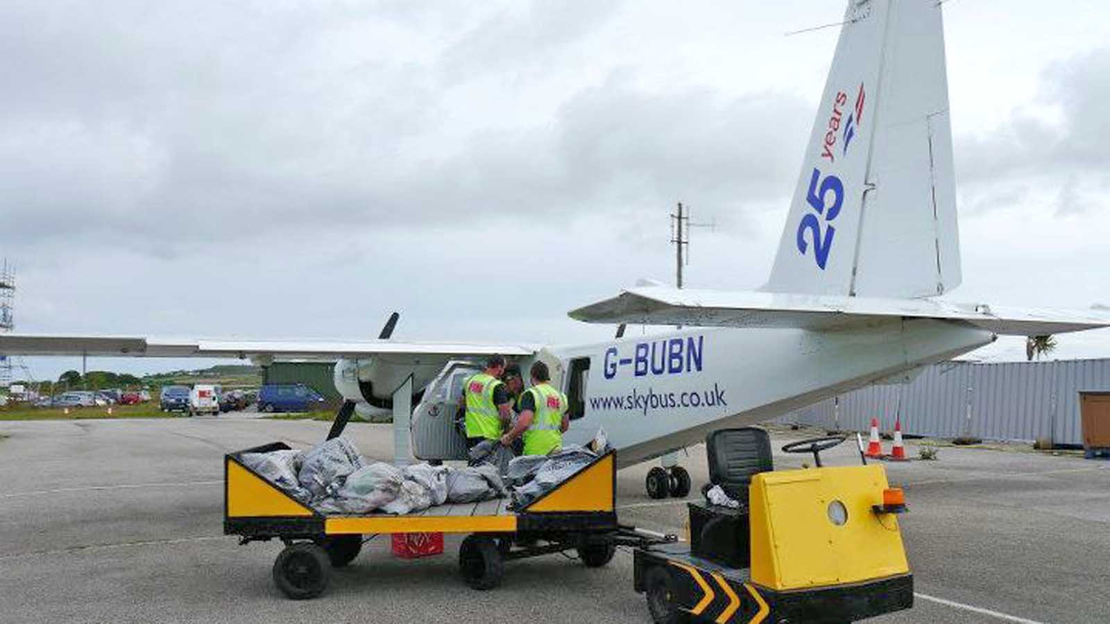 skybus mail loading