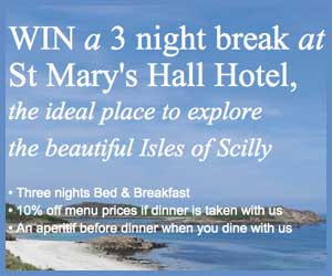 st marys hall hotel competition ad
