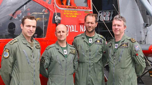 culdrose helicopter crew