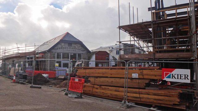 porthcressa building site