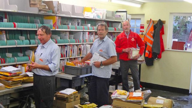 post office staff
