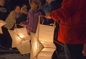 In Pictures: Walking Nativity And Lantern Procession 2012