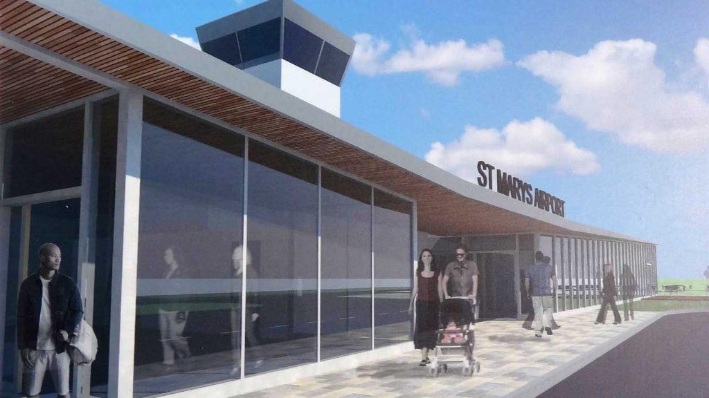 airport plans entrance