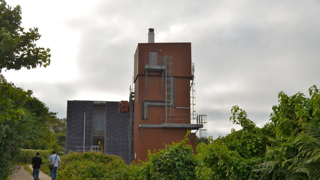 The waste incinerator at Moorwell