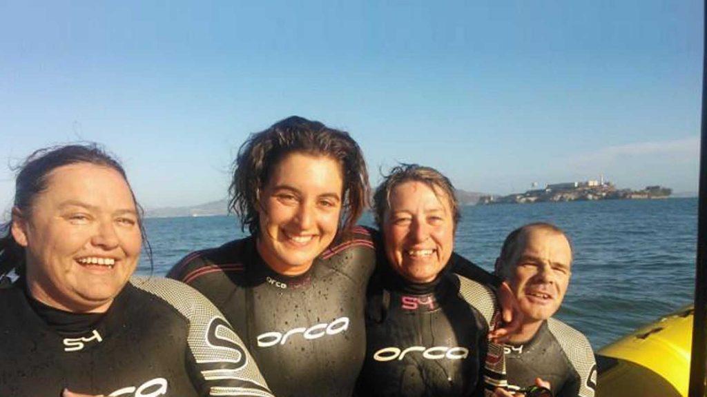 alcatraz swim 2013