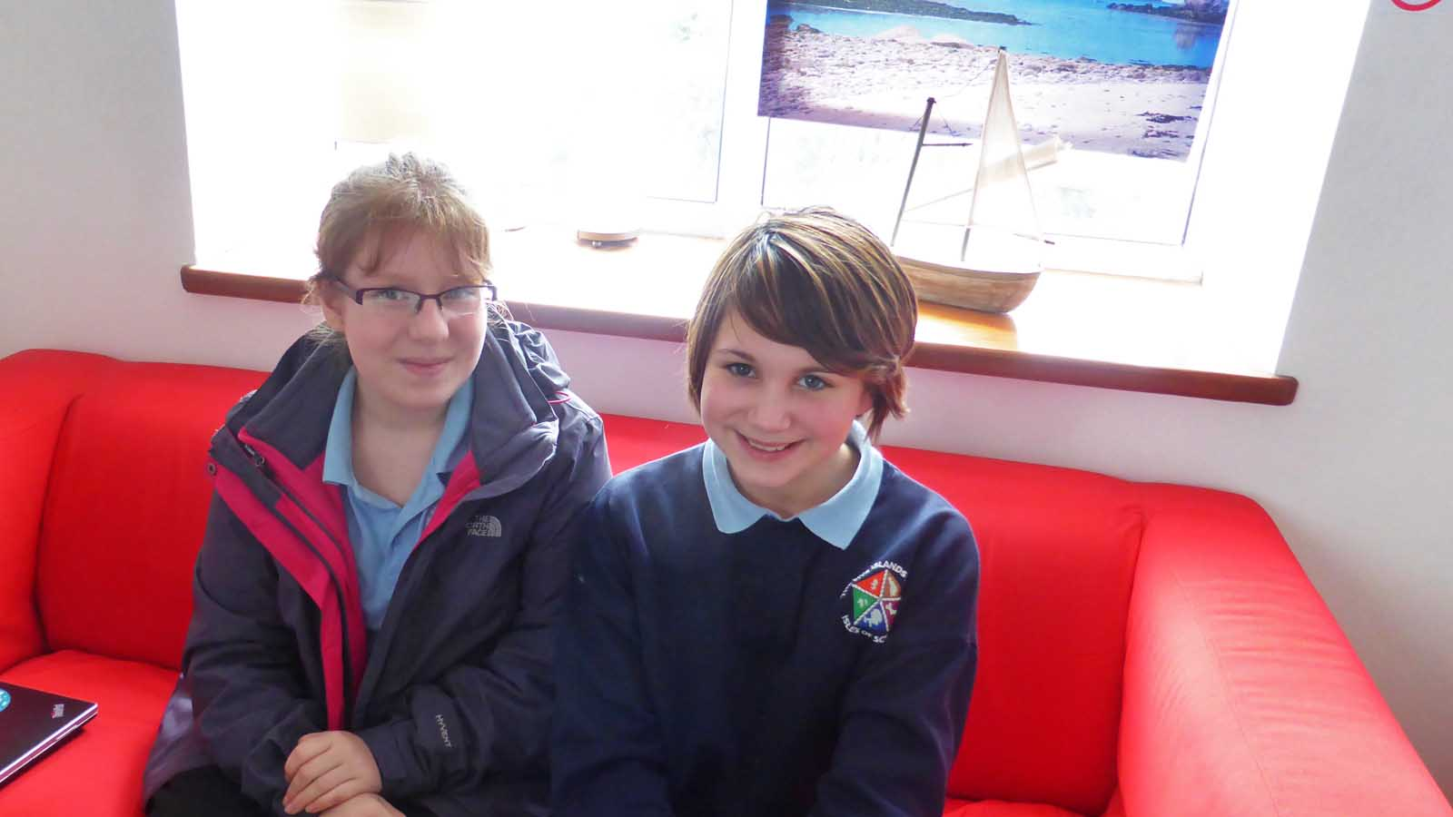 Scilly's New Youth Parliament Members