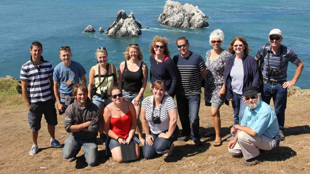 The delegation from the Isles of Scilly on their visit to Alderney. Photo by kind permission of Martin Batt/Living Islands.