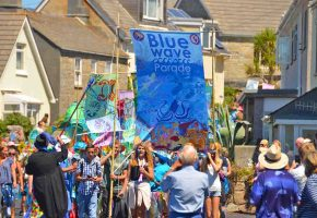 In Pictures: Five Islands School Blue Wave Parade
