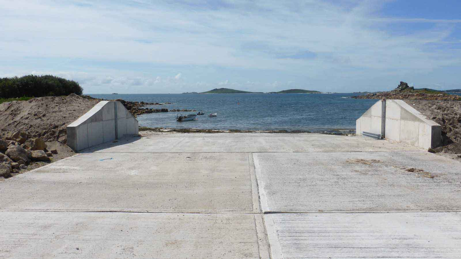 St Mary's Harbourmaster Dale Clark On The New Porthloo Boat Park