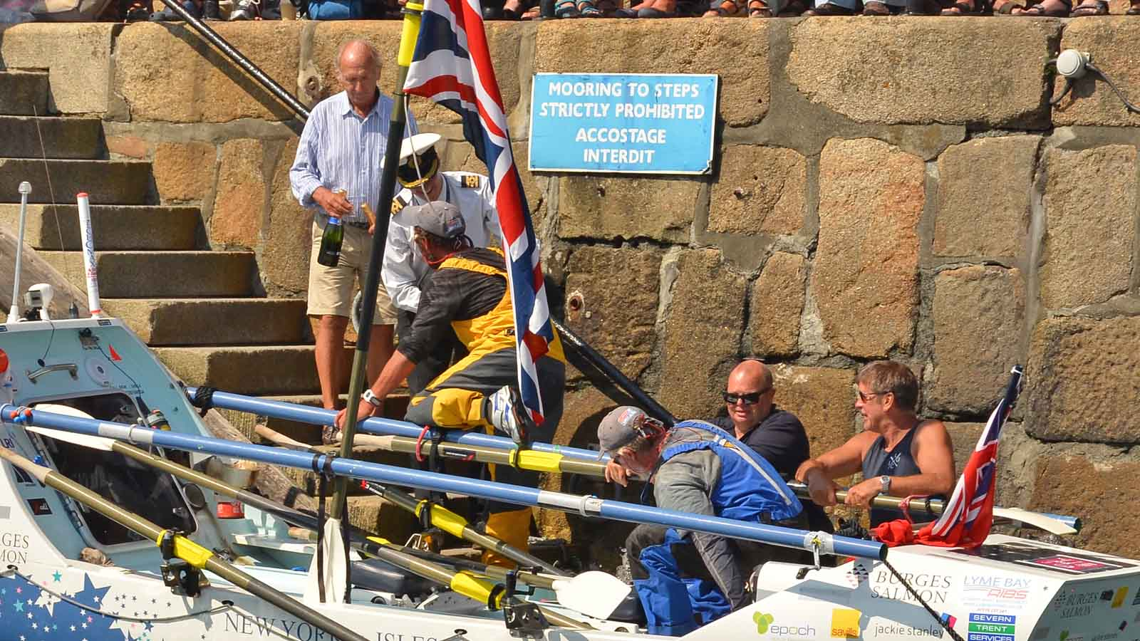 Coverage Of The Arrival Of Transatlantic Rowers In Scilly