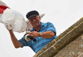 In Pictures: Parish Church Teddy Parachute Drop