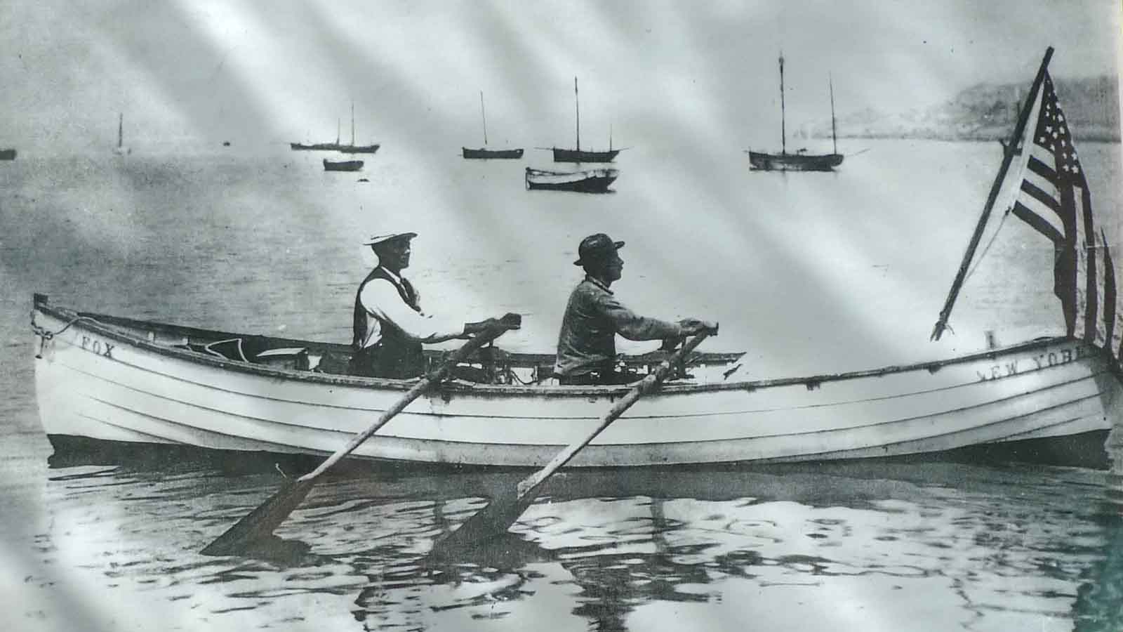 Bill Cameron On The Original Atlantic Rowing Record