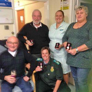 ambulance medals 2014