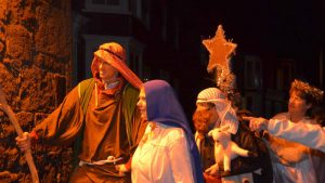 walking nativity 2014