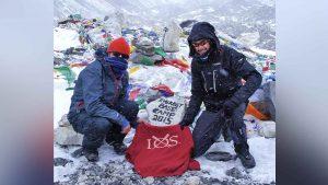 49 degrees on Everest