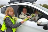 School Pupils Encourage Drivers To Use Alternative Route