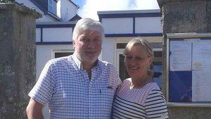 Nigel and Jackie Wolstenholme