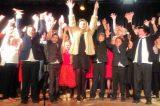 Islander Returns To Help Pupils' Show