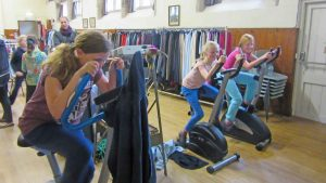 guides cycle challenge Apr 2015