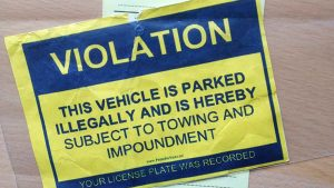 fake parking ticket 2015