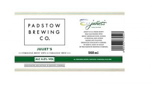 juliets beer label