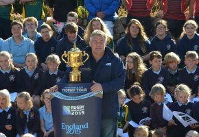 In Pictures: Rugby World Cup Trophy Tour 2015