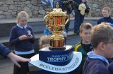 Rugby World Cup Trophy Kicks Off England Tour In Scilly