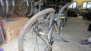 damaged bike Aug 2015