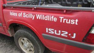 wildlife trust van 2015