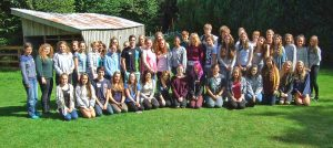 The current first year IB cohort during their induction at Tomperrow.