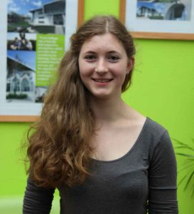 Rosa Dyer from Gorran Haven, who achieved 43 points in the IB at Truro College this year.