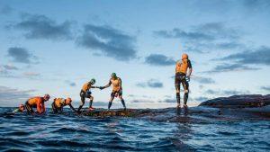 The ÖTILLÖ Swim-Run event. Photo by JakobEdholm/ ÖTILLÖ2015