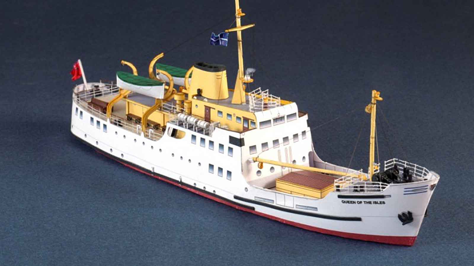 Two Of Scilly\'s Iconic Ships Recreated In Cardboard | Scilly Today
