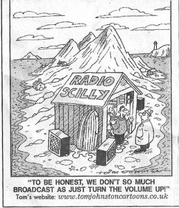 A Daily Mirror cartoon published in 2001